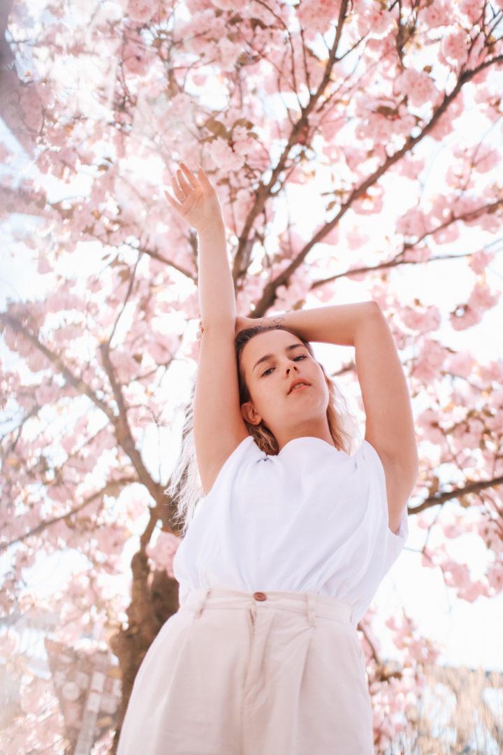Kirschblüten Outfit